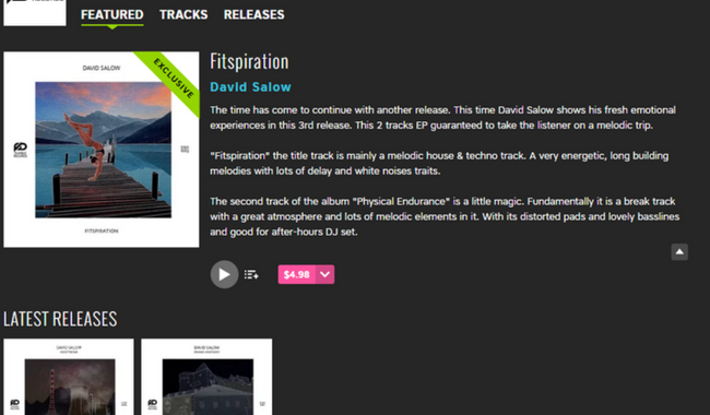Exclusive release on Beatport