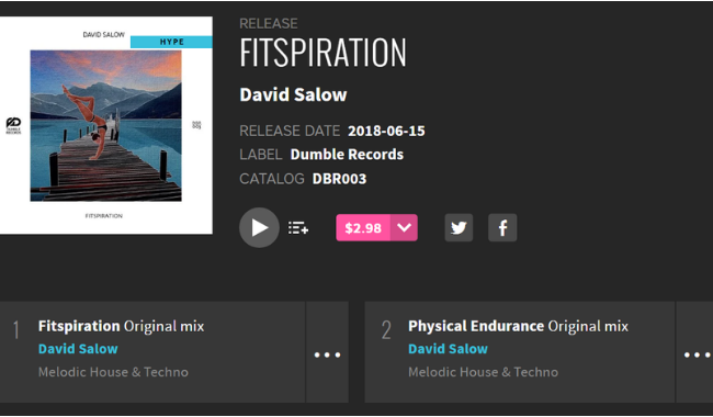 Our latest release is hyped on Beatport