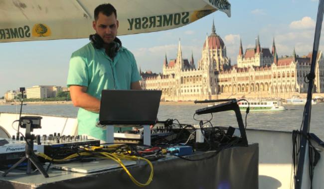 HERZ SUMMER X TRIP HAJÓ X DJ SET David Salow, Budapest 06-2019