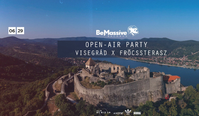 Be Massive open Air Party x Visegrád x Fröccsterasz (29 June)